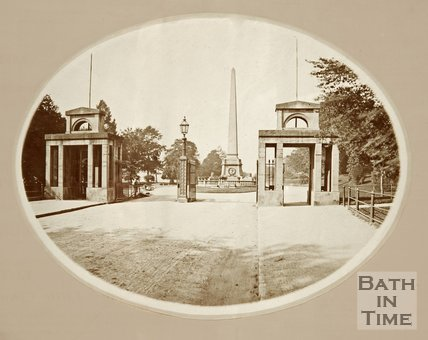 Entrance to Royal Victoria Park. c.1870