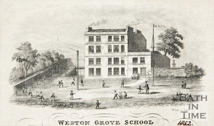 Weston Grove School, 1852.