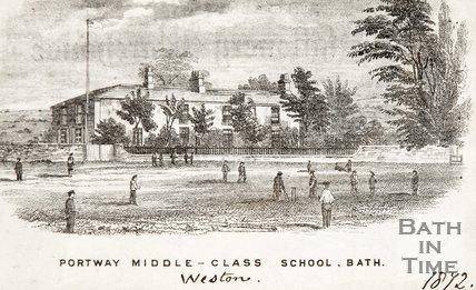 Portway Middle Class School, Weston 1872