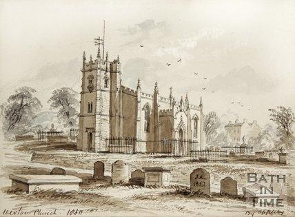 Weston Church 1850