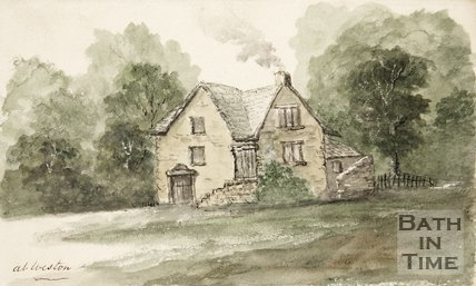 At Weston sketch of cottage