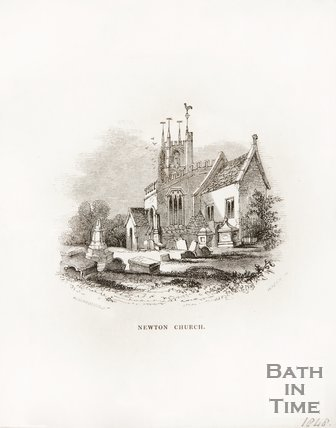 Newton St. Loe Church 1848.