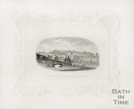 Cavendish Place, Lansdown Crescent &c c.1837