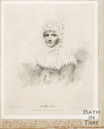 Portrait of Henrietta Maria Bowdler.