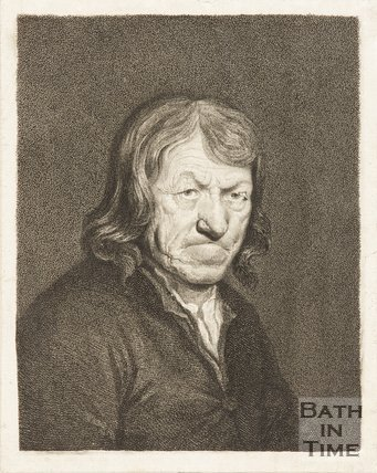 Portrait of 'Old Tom Thumb'