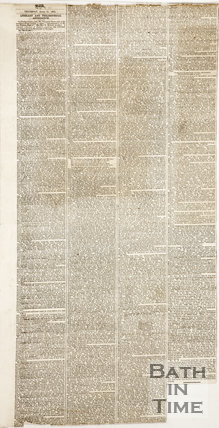 Newspaper article containing a biography of Thomas Barker. 1862.