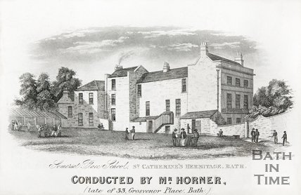 Somerset Place School, St Catherine's Hermitage c.1850