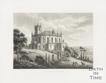 All Saint's Chapel. Lansdown 1794
