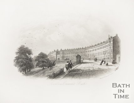 Lansdown Crescent, Bath c.1855?