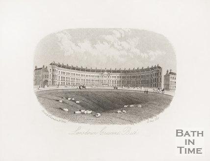 Lansdown Crescent 1858