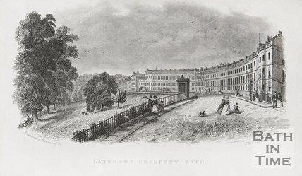 Lansdown Crescent c.1845