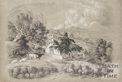 Charlcombe Church 1841