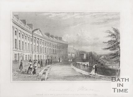 Camden Place (Crescent), Bath 1829