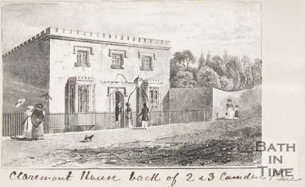 Claremont House, Back of 2 and 3 Camden Place.