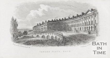 Camden Place Bath. 1845