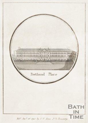 Portland Place, c.1840?