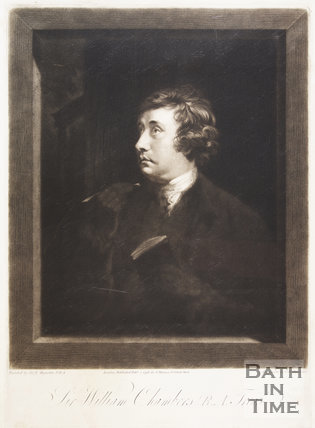 Sir William Chambers R.A. Treasts. 1796.