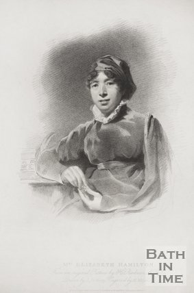 A portrait of Mrs Elizabeth Hamilton. 1814.