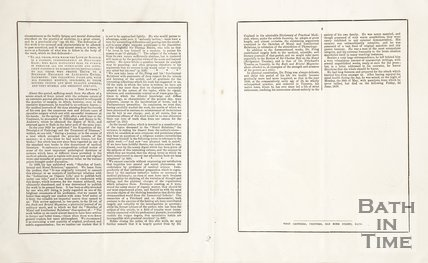 Daniel Pring's obituary. Verso.