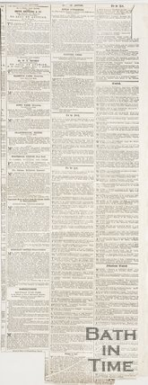 Newspaper article concerning the Consecration of St Andrews Church. 1873. verso