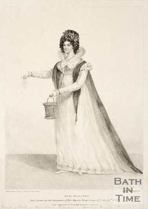 Miss Fellows, known locally as 'Her Strewer Fellows' 1821