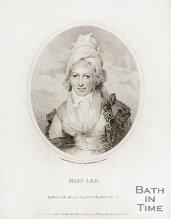 Miss Sophia Lee, author of the Recess Chapter of Accidents etc.1797