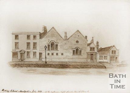 Riding School, Montpelier, Julian Road, July 1851