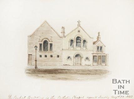 Riding School, Montpelier, Julian Road, c.1853?