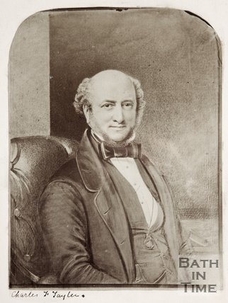 Portrait of Charles F Taylor