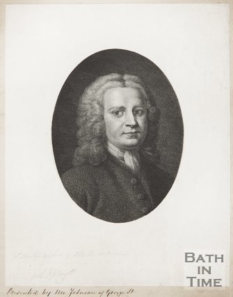 Portrait of D. Hartley.