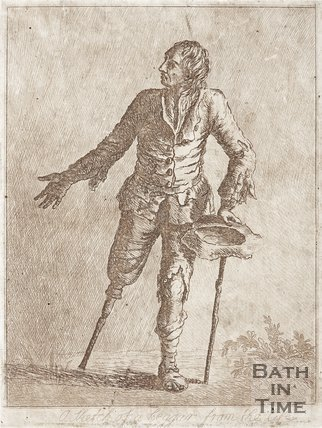 Sketch of a beggar from the life.