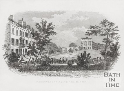 Marlborough Buildings 1845