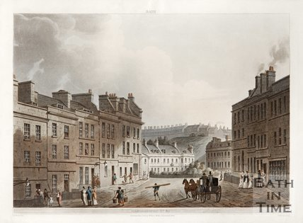 Marlborough Lane and St. James's Square 1805