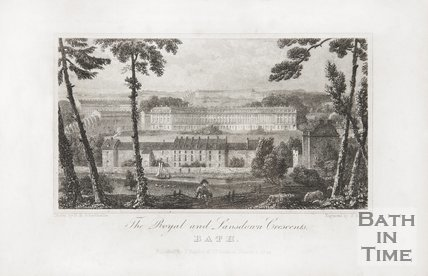 The Royal and Lansdown Crescents 1824