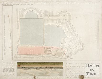 Plan of Proposed Improvements of the Lower Parts of the Royal Crescent Fields.