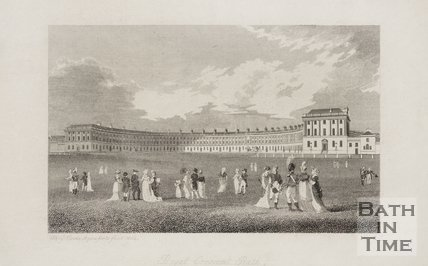 Royal Crescent, Bath 1804
