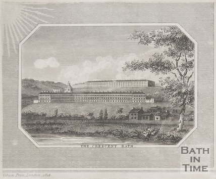 The Royal Crescent Bath 1818