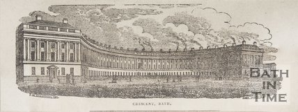 Royal Crescent, Bath 1829