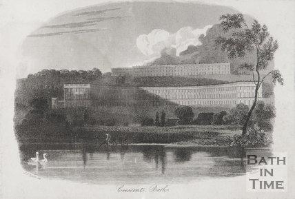 Royal Crescent, Bath 1813