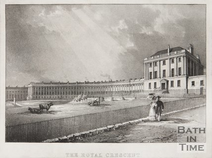 The Royal Crescent 1828