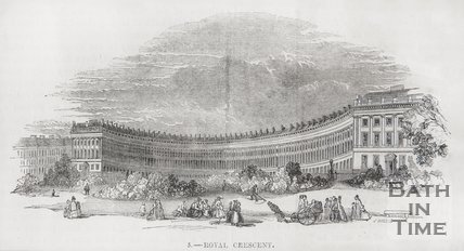 The Royal Crescent 1849