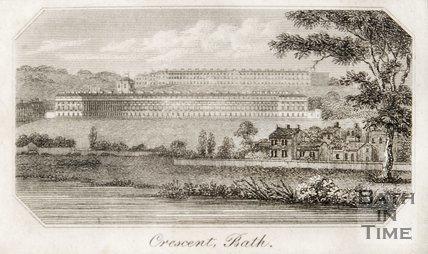 The Royal Crescent Bath 1805