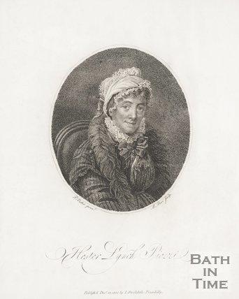 Portrait of Hester Lynch Piozzi. 1800.