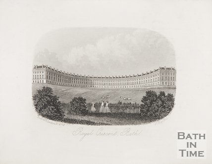 The Royal Crescent 1863