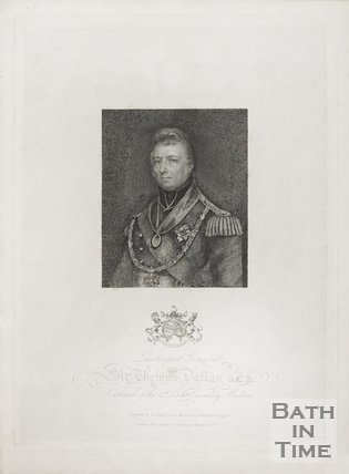 Portrait of Lieutenant General Thomas Dallas. 1827.