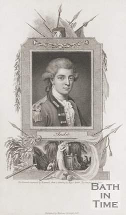 Portrait of Major Andre. 1808.