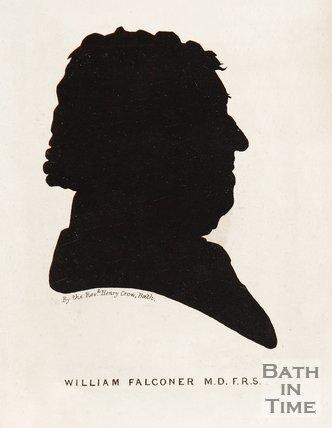 Silhouette of William Falconer.