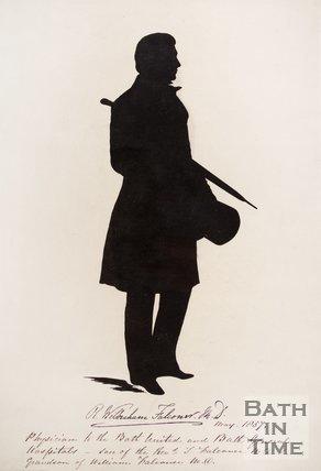 Silhouette of R. Wilberham Falconer M.D. 1857.