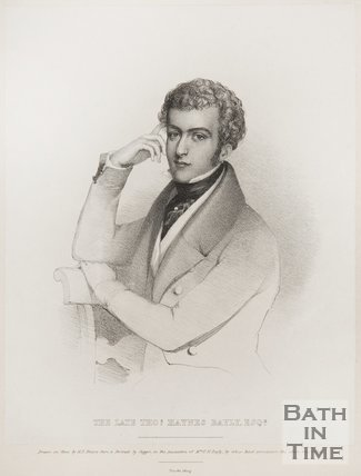 Portrait of Late Thomas Haynes Bayly Esq.