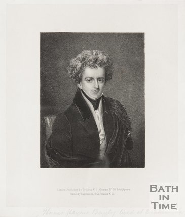 Portrait of Thomas Haynes Bayly of 2 Catherine Hall